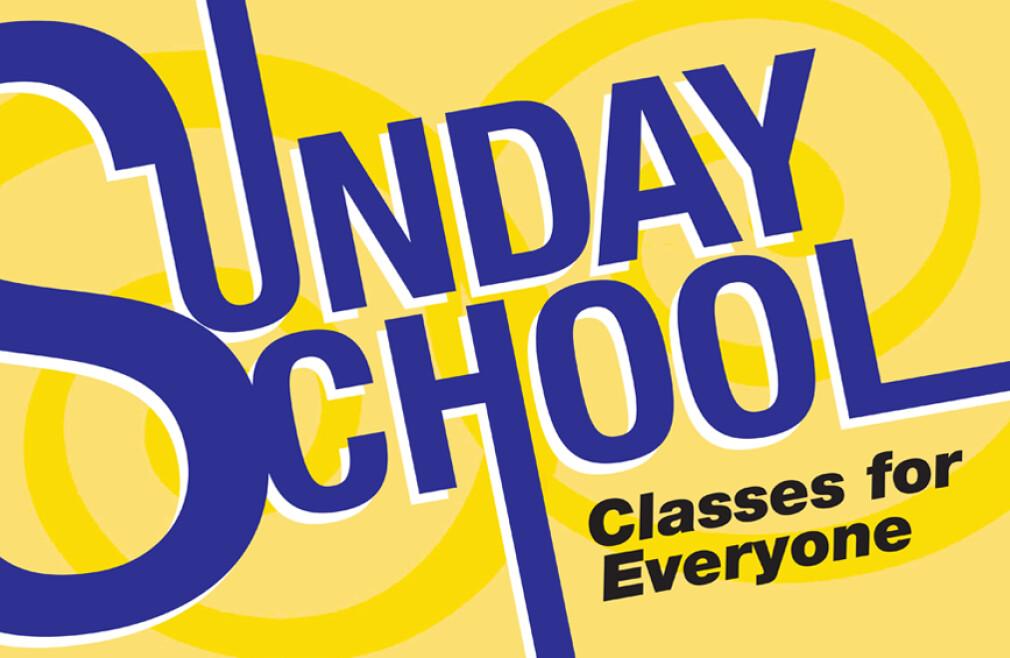 Sunday School (Pre-5th)